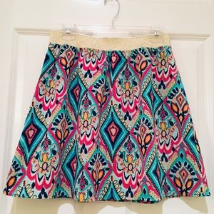Lilly Pulitzer Crown Jewels Coy Skirt - Size M